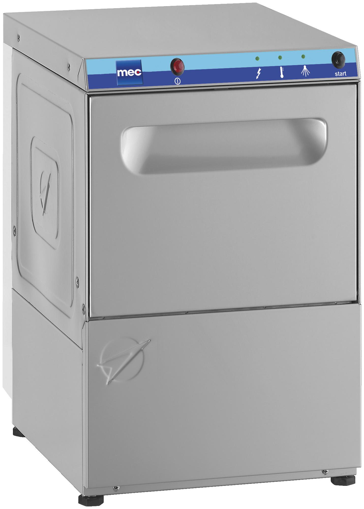 Máquina de lavar a vidro de carregamento frontal C 35