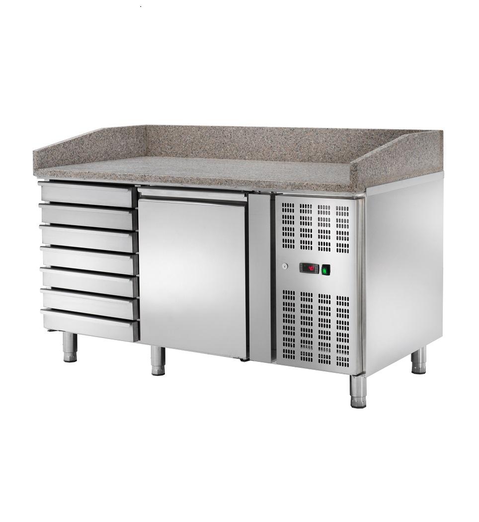 Bancada Refrigerada Ventilada para Preparação de Pizza AK1610TN