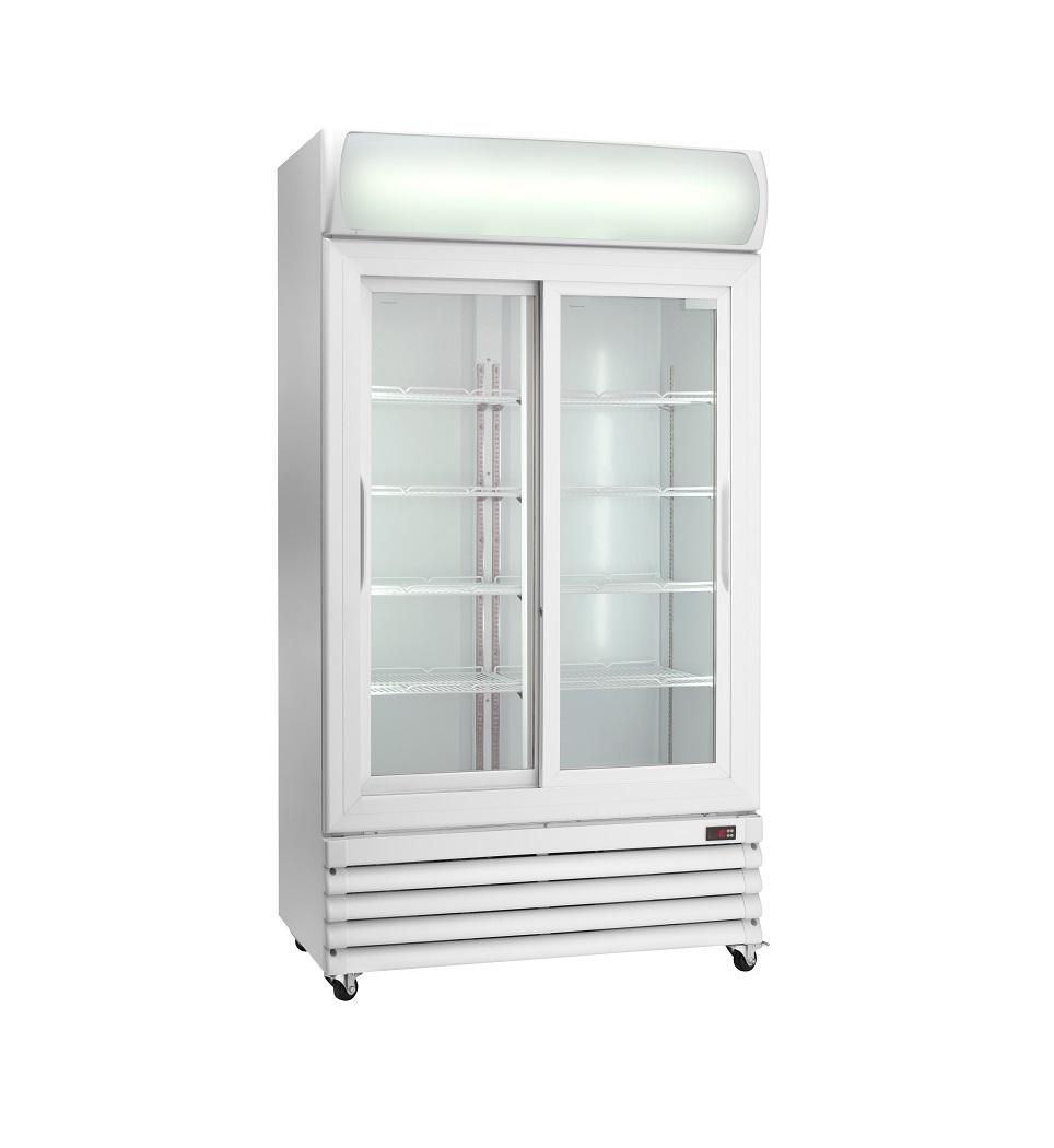 Expositor refrigerado ventilado para bebidas AKE1000RS