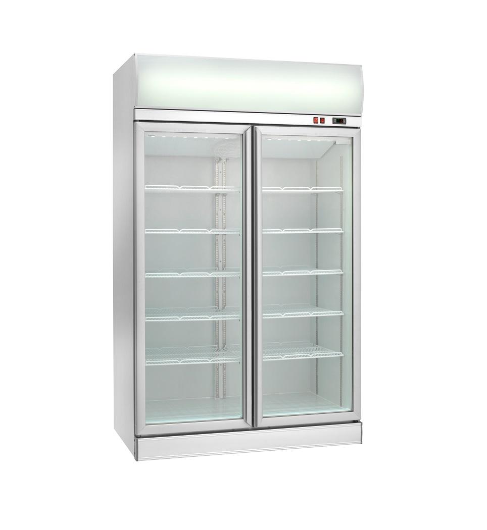 Expositor refrigerado ventilado para bebidas AKE1200RG