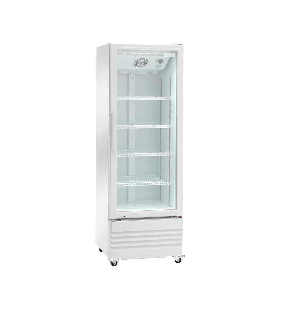 Expositor refrigerado ventilado para bebidas AKE210RG