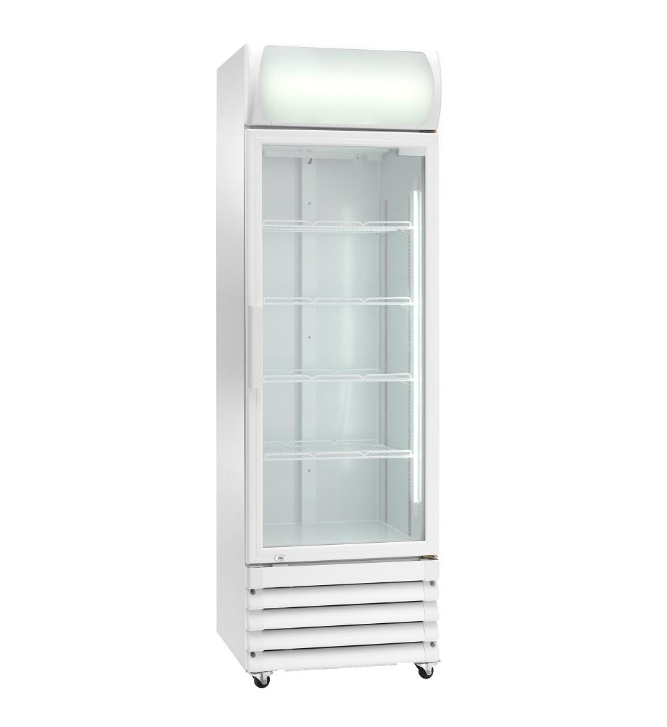 Expositor refrigerado ventilado para bebidas AKE370RG