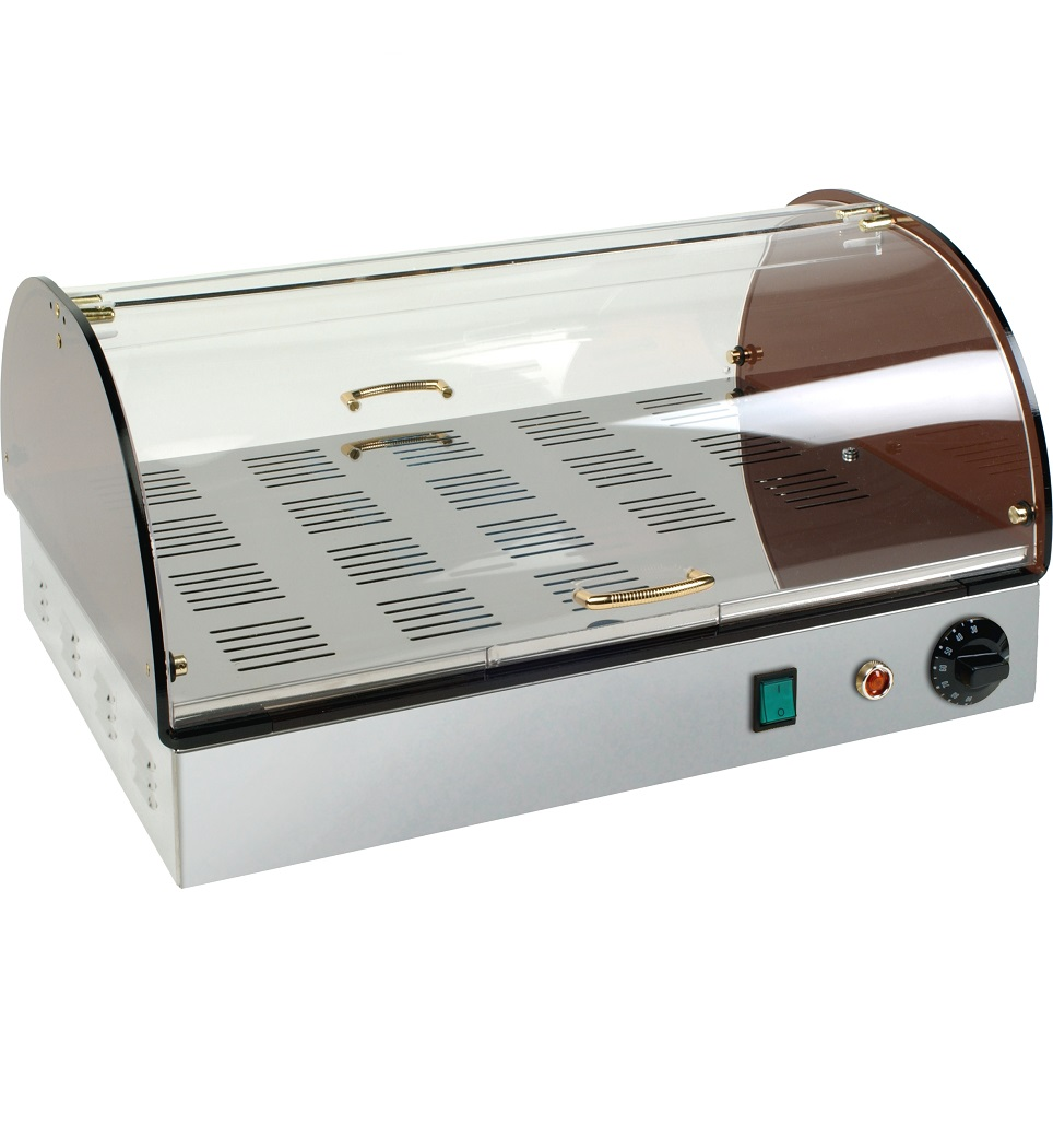 Expositor aquecido de balcão VC501
