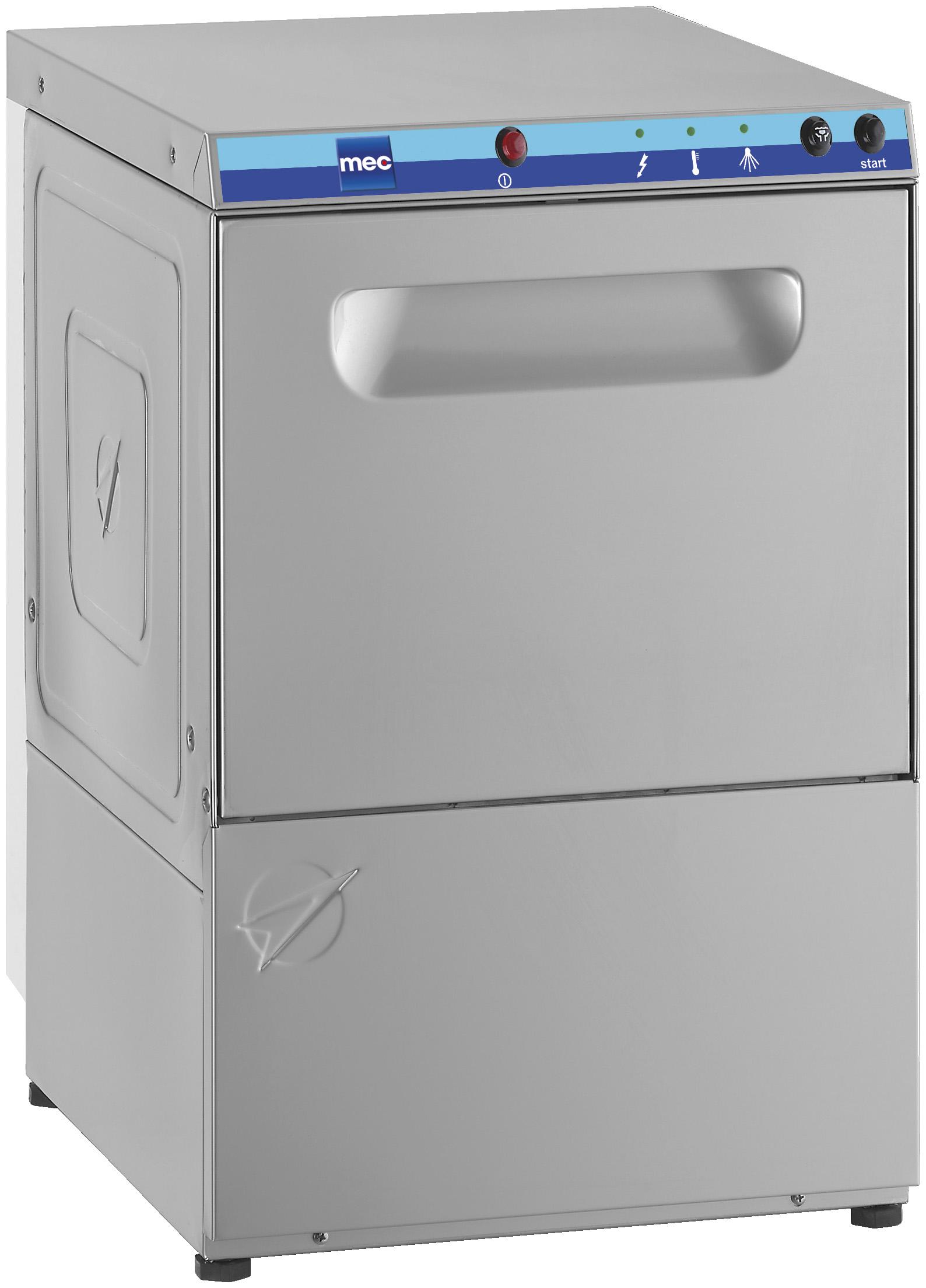 Máquina de lavar a vidro de carregamento frontal C 40