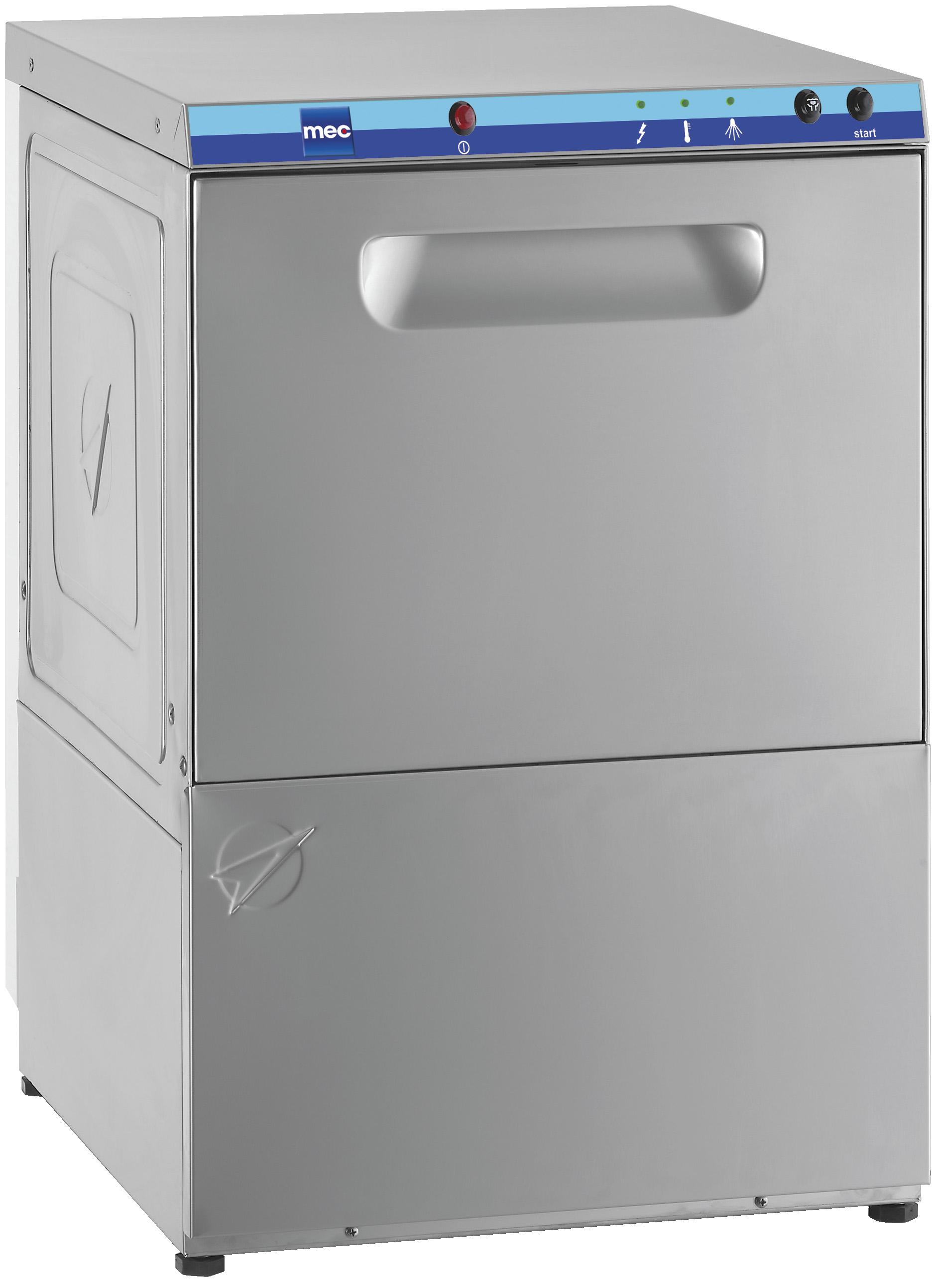 Máquina de lavar a vidro de carregamento frontal C 50
