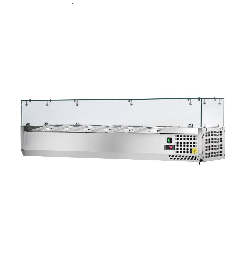 Vitrina Refrigerada de Bancada para Pizzaria AK15038