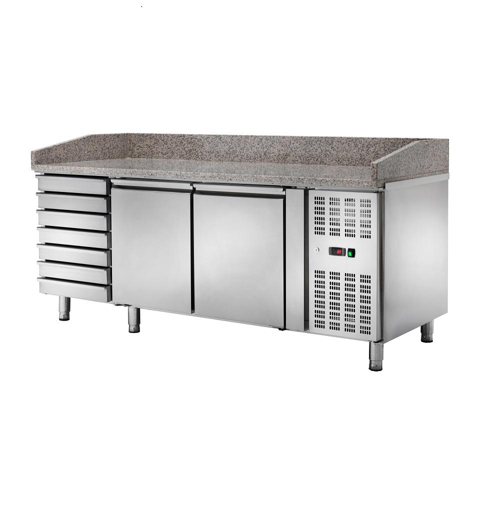 Bancada Refrigerada Ventilada para Preparação de Pizza AK2610TN
