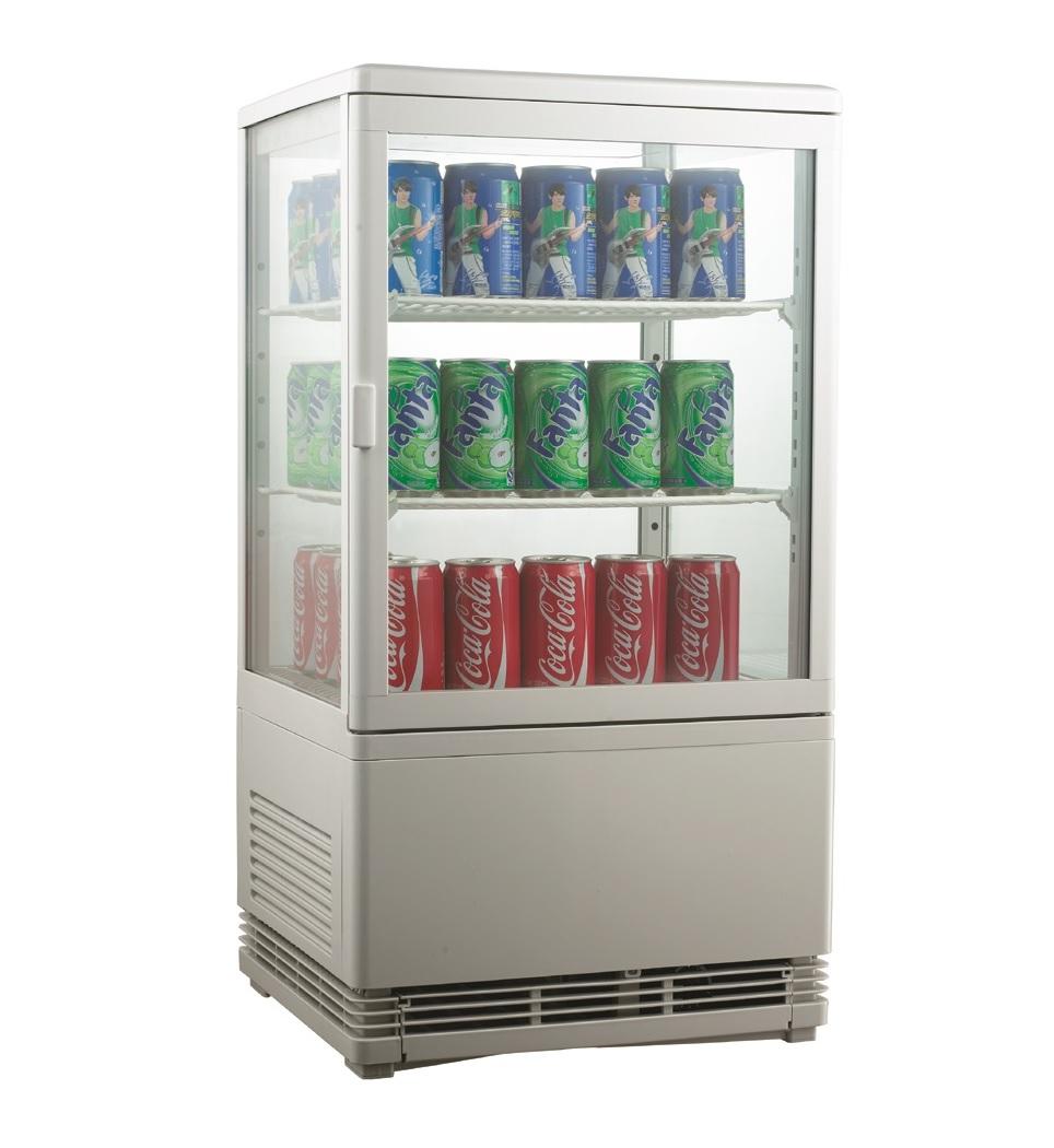 Expositor refrigerado ventilado para bebidas AK58EB
