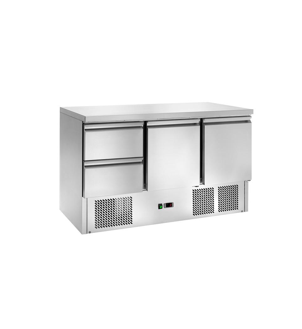 Bancada Refrigerada Estática de Gavetas AK903-2D