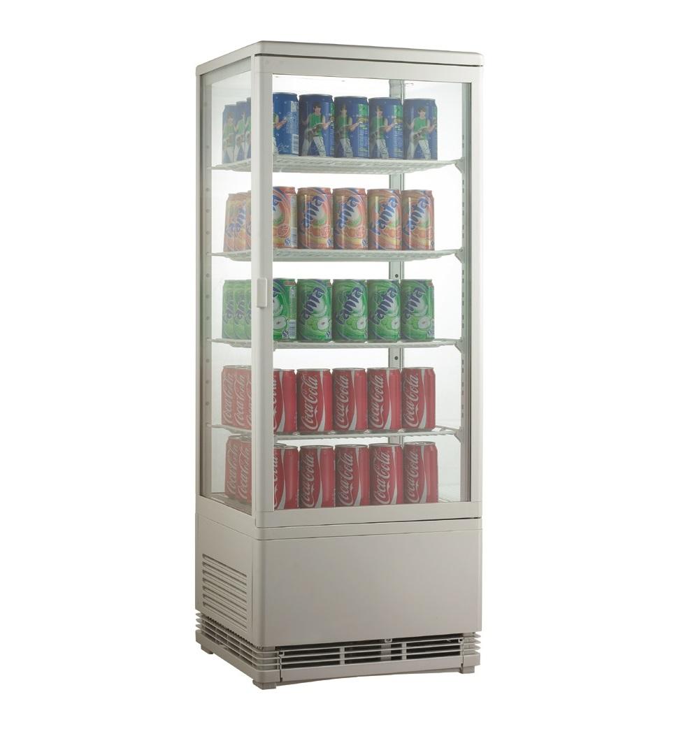 Expositor refrigerado ventilado para bebidas AK98EB