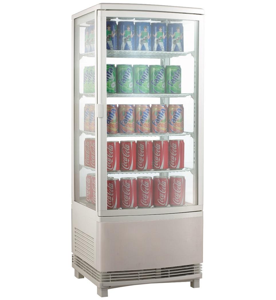 Expositor refrigerado ventilado para bebidas AK98EB2