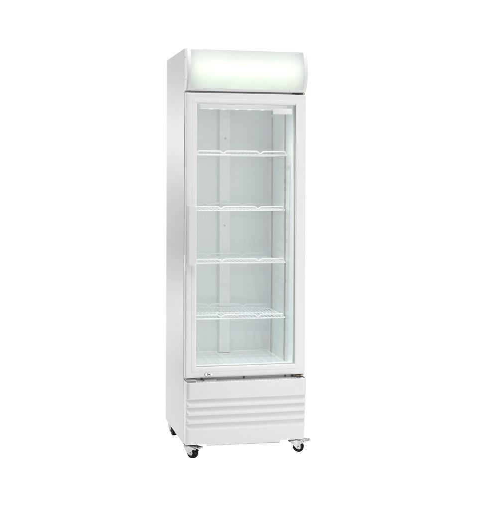 Expositor refrigerado ventilado para bebidas AKE250RG